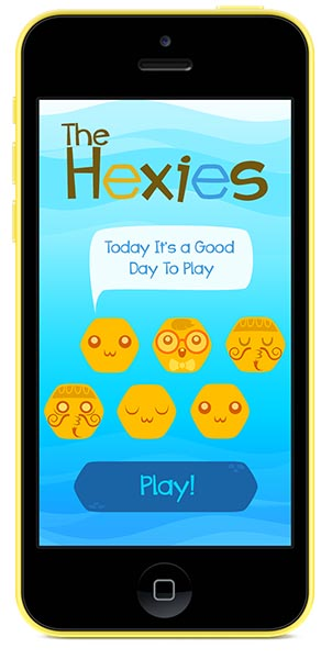 Materia Works Game Studio - Videogame Development Company - The Hexies - Screen 01